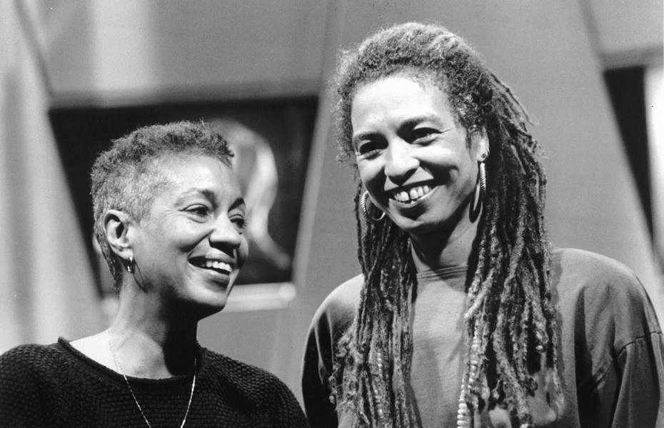 June Jordan y Angela Davis